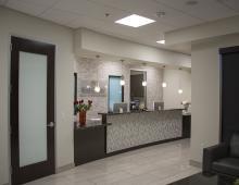 Star Clinic office reception area